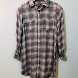 Aerie Tunic Flannel
